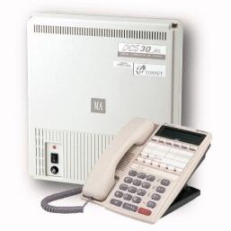 電話總機DCS-30通航電話總機(4外線8分機阜主機+8顯示型分機)(本月特惠價, 只限3套)