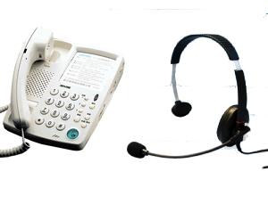 電話總機國洋電話機  K-311B  國洋耳機型電話+高級耳機