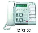 電話總機通航電話機TD-9315D  8鍵顯示型數位話機-TONNET