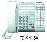 電話總機通航電話機TD-9415A  12鍵標準型數位話機-TONNET