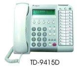電話總機通航電話機TD-9415D  12鍵顯示型數位話機-TONNET