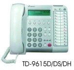 電話總機通航電話機TD-9615DH  24鍵顯示 +附耳機孔-TONNET