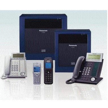 電話總機Panasonic TDA100D  PBX, 國際牌網路交換機,系統容量 6個自由卡槽-含8路外線-32分機容量+16數位分機